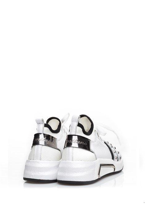 Dora Beyaz Floter Bayan Spor Ayakkabi Ilvi Ayakkabilar Ayakkabi Bot Spor