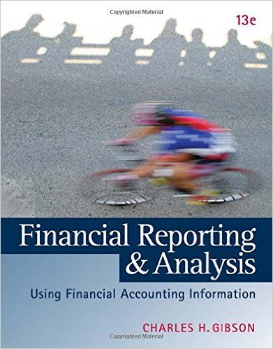 Solution Manual For Financial Statement Analysis 13th