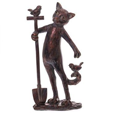 This fun feline is ready to help you with your spring garden. Pick up the Gardening Cat Statue from the Cracker Barrel Old Country Store.