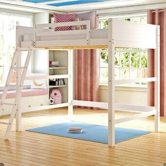 Alfred Twin Loft Bed In 2020 Loft Bed Twin Loft Bed Low Loft Beds