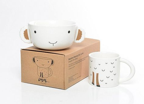 Funny Breakfasts - The Cutest Kids' Mugs - Petit & Small