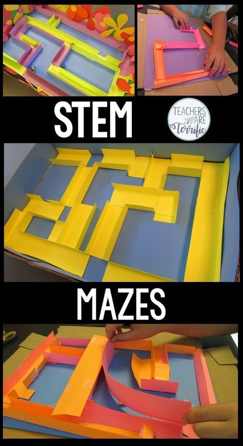Stem Challenge Featuring Building A Maze Designed Just For Kids In The Elementary Classroom These Deta Elementary Stem Activities Stem Challenges Stem Classes