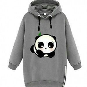 Ladies Hoodies & Sweatshirts - Panda Things I need this!