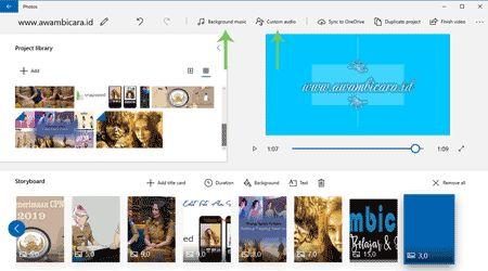 Cara Membuat Video Youtube Dari Gambar Dan Musik Dengan Aplikasi Foto Windows 10 Windows 10 Windows Aplikasi