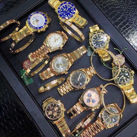 Rolex & Cartier Options ✨ - Courtesy of