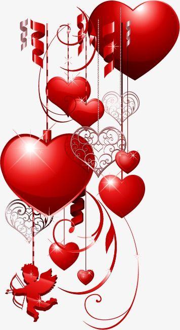 Colgante Romantico Corazon De San Valentin Romantico El Dia De San Valentin Corazon Png Y Psd Para Descargar Gratis Pngtree Valentines Love Heart Images Valentine Day Wreaths