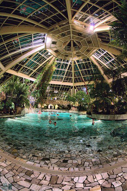 Fancy Indoor Swimming Pool Designs That Everyone Should See 15 Indoor Pools, Lap Pools, Backyard Pools, Pool Landscaping, Pool Decks, Outdoor Pool, Garden Pool, Backyard Ideas, Garden Ideas