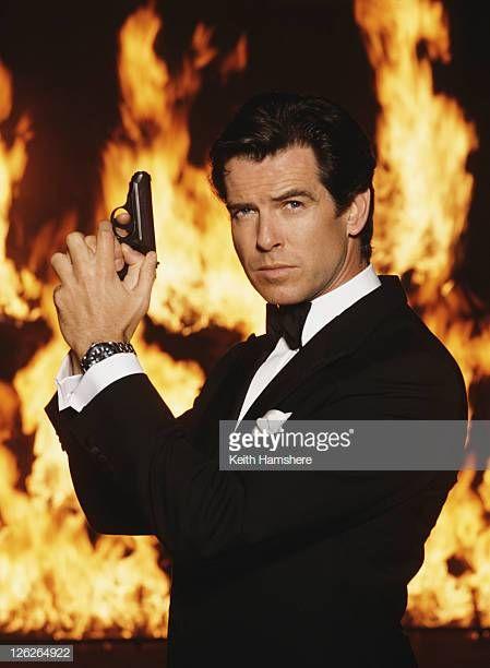 Irish Actor Pierce Brosnan Stars As James Bond In The Film