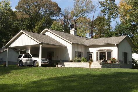 Morton Buildings custom home in Centralia, Illinois.