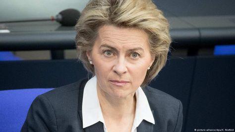 """Von der Leyen corrige a Trump por presunta """"deuda"""" alemana"""