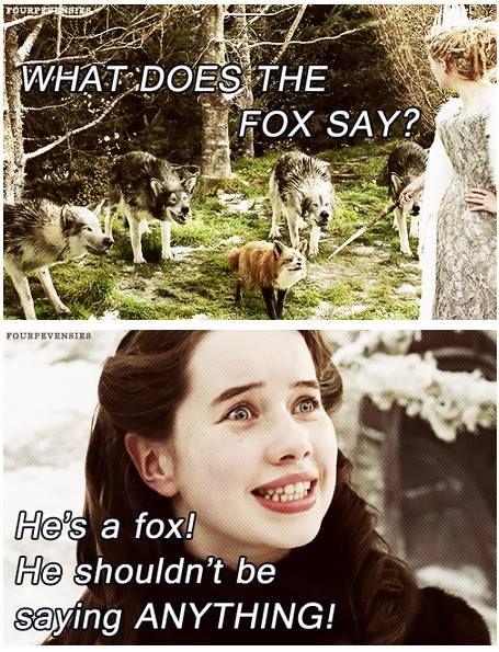 Ah, Narnia...