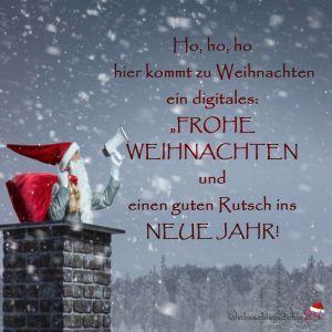 Weihnachtsgrüße Auf Whatsapp.Weihnachtsgrüße Per Whatsapp Karte 12 Deko Weihnachtsgrüße
