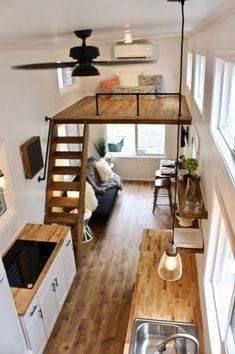 👍Tiny Loft Space Saving Tips? #archiparti #cute college ...