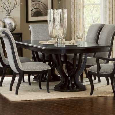 Weinberger Dining Table Dining Room Table Decor Double Pedestal Dining Table Dining Table With Leaf