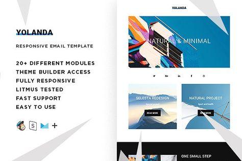 Yolanda – Responsive Email template