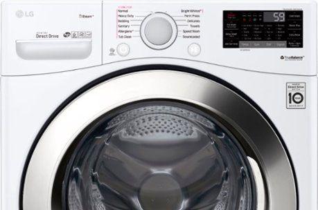 How To Reset Lg Washing Machine Lg Washing Machines Washing Machine Lg Washer