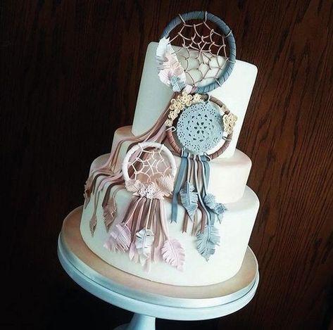dream catcher cake gâteau attrape reves