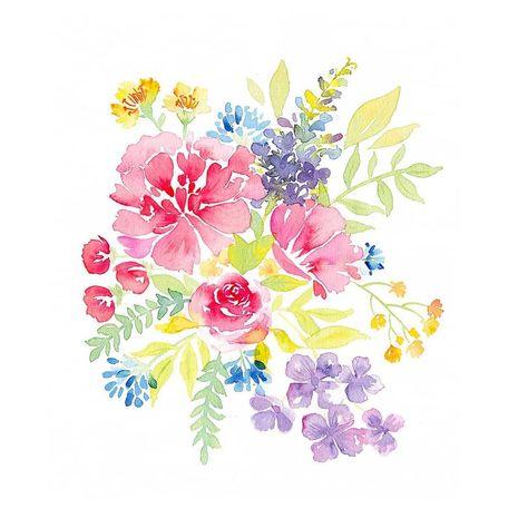 "Dᴏʀᴏ Kᴀɪsᴇʀ | Illustration on Instagram: ""𝘛𝘩𝘦𝘳𝘦 𝘢𝘳𝘦 𝘢𝘭𝘸𝘢𝘺𝘴 𝘧𝘭𝘰𝘸𝘦𝘳𝘴 𝘧𝘰𝘳 𝘵𝘩𝘰𝘴𝘦 𝘸𝘩𝘰 𝘸𝘢𝘯𝘵 𝘵𝘰 𝘴𝘦𝘦 𝘵𝘩𝘦𝘮. (Henri Matisse)  Ja, will ich! 🌼  #floralwatercolor #watercolorflowers…"""