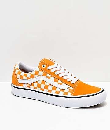 chaussure vans orange
