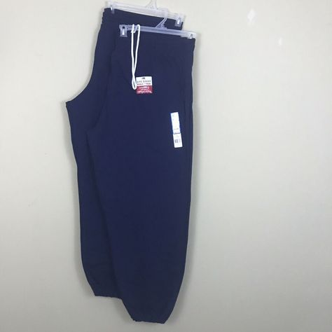 Fruit of the loom NAVY blue sweatpants size 4xl brand new
