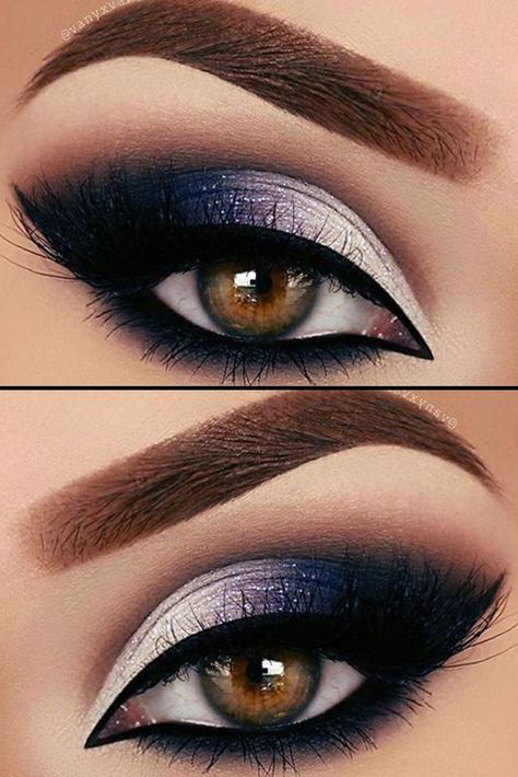 21 Sexy Smokey Eye Makeup Ideas to Help You Catch His Attention ★ See more: gl., 21 Sexy Smokey Eye Makeup Ideas to Help You Catch His Attention ★ See more: gl. - 21 Sexy Smokey Eye Makeup Ideas to Help You Catch His Attention ★ . Purple Eye Makeup, Makeup Eye Looks, Eye Makeup Tips, Cute Makeup, Gorgeous Makeup, Eyeshadow Makeup, Makeup Brushes, Makeup Geek, Makeup Products