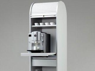 Dancer Rollladenschrank Kaffeeschrank Ausziehboden Rollladenschrank Schrank Kaffeemaschine