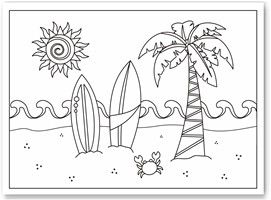 Beach coloring pages for adults seashell coloring pages beach