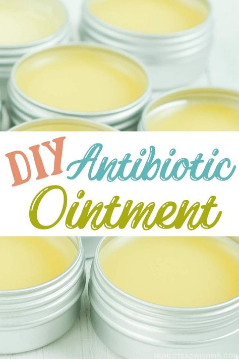Homemade Antibiotic Ointment