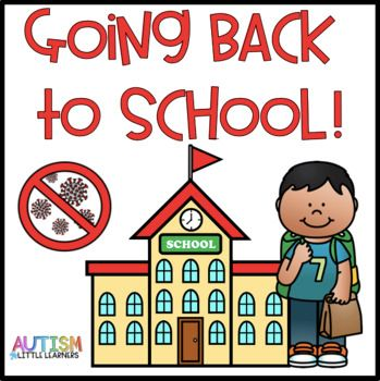 Going Back To School Story by Autism Little Learners 1st Day Of School, Beginning Of The School Year, Going Back To School, School Kids, School Stuff, Classroom Activities, Learning Activities, Little Learners, Social Stories