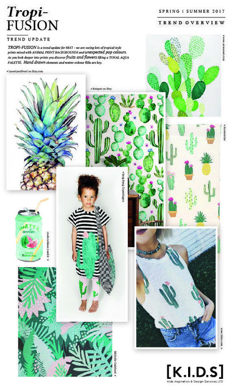Spring | Summer // Trend Update: TROPI-Fision... #FashionTrendsBook