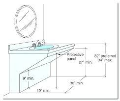 Ada Bathroom Counter Depth Google Search Ada Bathroom Bathroom Counters Counter Depth