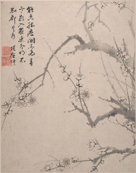 Chinese Flower Paintings Flowers p.4 Wang Shishen Fine Art Print Landscapes