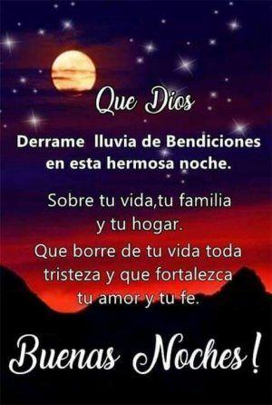 Buenas Noches Familia Bendecida Noche Imagenes Buenas Noches