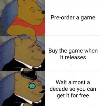 Video Game Deals To Keep You Sane Winnie The Pooh Memes Memes Funny Memes