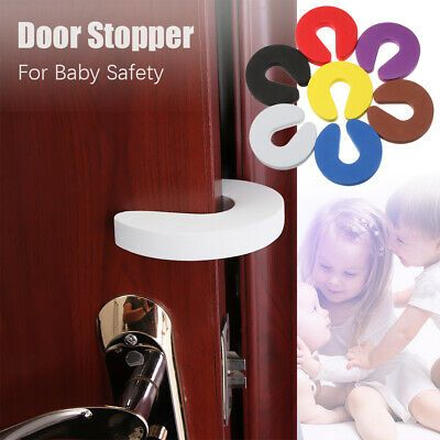Details About Bedroom Door Clip Soft Guard Door Stopper Baby Kids Safety Finger Protector Baby Door Stopper Foam Door Stopper Door Stopper