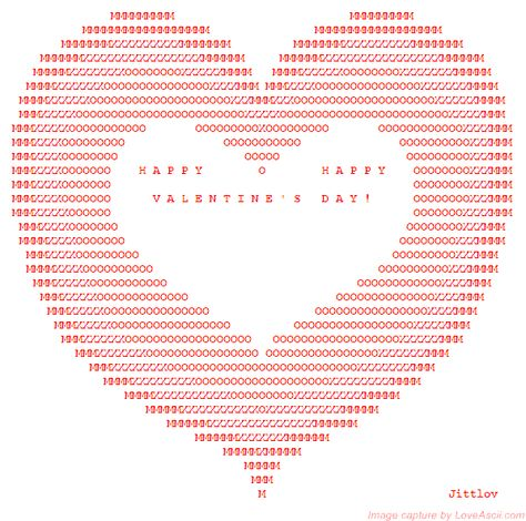 Stunning Ascii Heart Art This Is So Cool Httpsussletheart