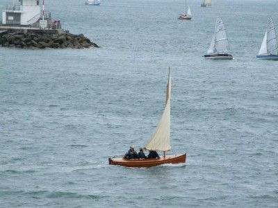 15' Stirling and Son sailing dinghy (191) | 15' Clinker Sailing