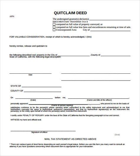 Quitclaim Deed Forms Samples Examples Amp Format Michigan Quit