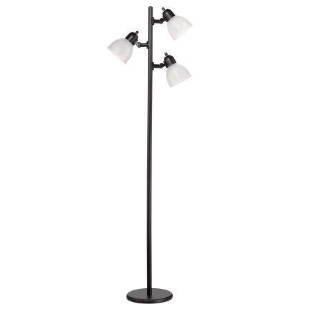 Novogratz X Globe 30 Watt Led For Life 63 3 Light Matte Black Led Tree Lamp Eclecticdecor Black Floor Lamp Led Floor Lamp Tree Floor Lamp