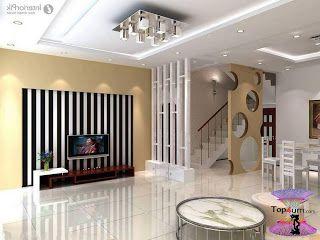 افضل ديكورات جبس اسقف راقيه 2019 Modern Gypsum Board For Walls And Ceilings Modern Living Room Interior Hallway Wall Decor Interior Design Living Room