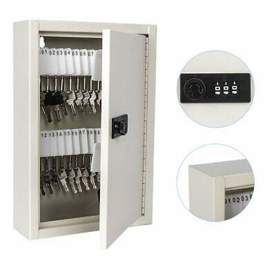 Details About Key Cabinet Storage Safe Security Lock 40 Keys Holder Box Wall Mount Organizer In 2020 Storage Cabinets Storage Key Cabinet