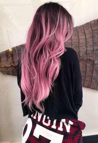 Best Hair Color Black Pink Shades 30 Ideas Hair Color For Black Hair Cool Hair Color Pink Ombre Hair