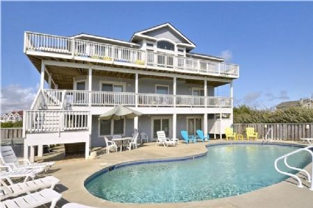 Beautifully Decorated This Corolla House Has Plenty Of Room For Everyone Great New Art Work T Outer Banks Vacation Outer Banks Vacation Rentals House Rental