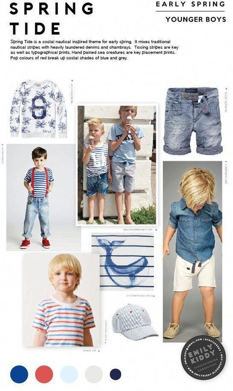 Spring | Summer 2017 - Spring Tide - Younger Boys #ToddlersFashionTrends