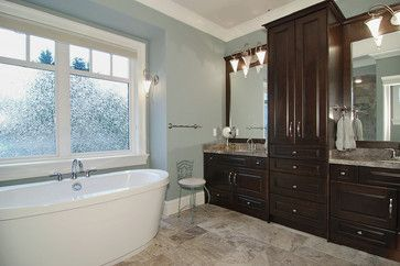 """Benjamin Moore Color...""""mount saint anne."""" Warm in winter and cool in summer, this sophisticated color is versatile, pairing well with white trim."""
