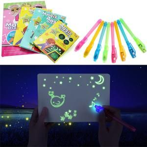 Led Luminous Drawing Board Set Drawing Tablero De Dibujo Dibujos Increibles