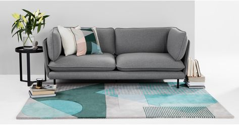 Wes 3 Sitzer Sofa Grau Sofa Design 3 Sitzer Sofa Und Sofa