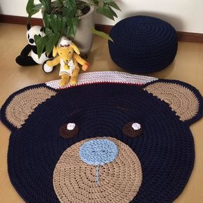 Molde de ursinho marinheiro - Como Fazer | 290x290