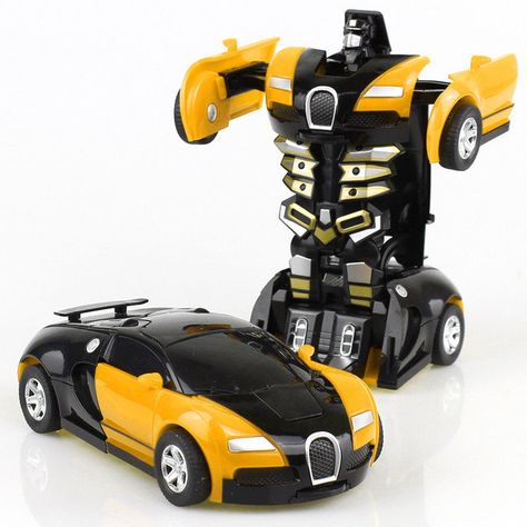 Toys For Boys Robot Transformers Car Kids Toddler Cool Toy Great Gift Idea New