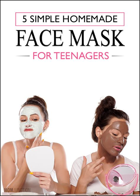 Homemade Face Mask For Teenagers: Here are 5 simple face mask recipes for teenagers that are ready in minutes, and promise to naturally nourish and revitalize your teen's skin.